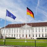Schloss Bellevue. Presidential palace, Berlin, Germany