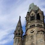 Kirchturmspitze Kaiser Wilhelm Gedchtniskirche Berlin